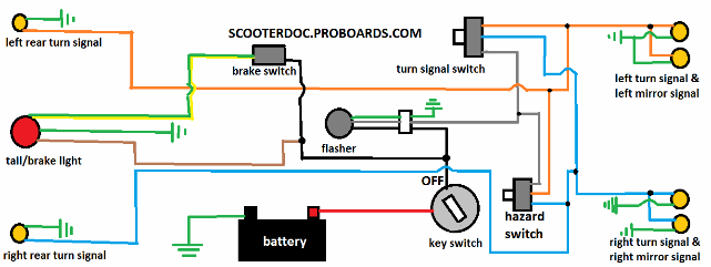 Directional Flasher Relay Wiring Diagram Wiring Diagrams